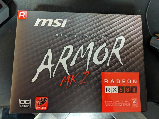 MINT MSI RX 580 8GB