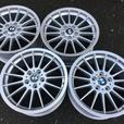 Set of RARE Genuine BMW Style 32 18x8 18x8.5 rims in showroom cond E46