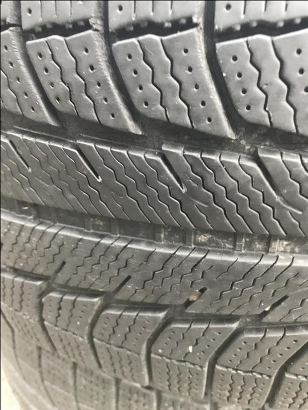 255/60r17 Michelin Latitude X-Ice