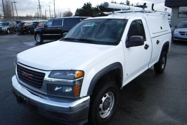 2006 GMC Canyon SLE1 2WD with Work Canopy & Ladder Rack