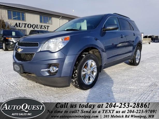 2012 Chevrolet Equinox 1LT - 2.4L, Backup Cam, Bluetooth, Cruise!
