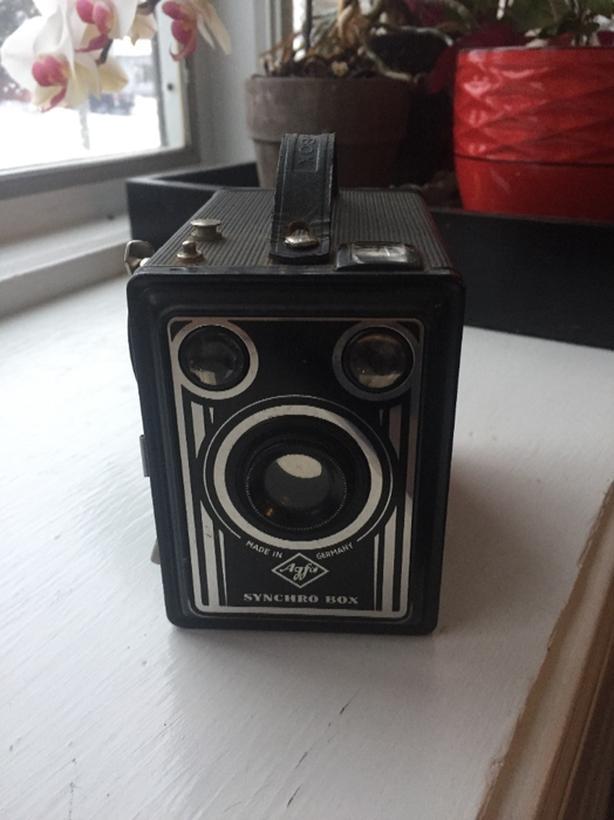 Vintage Agfa Synchro Box Camera