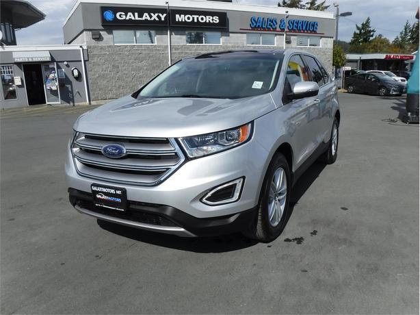 2017 Ford Edge Sel Awd Leather Panoramic Sunroof Nav West Shore