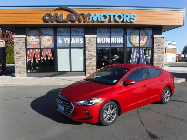 2017 Hyundai Elantra LIMITED-Blind Spot Detection, LCD Touch Screen