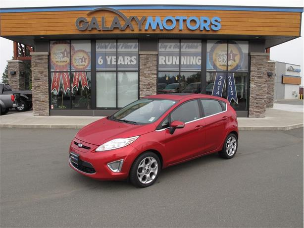 2011 Ford Fiesta SES- Heated Leather Seats, Leather Wrapped Steering Wheel