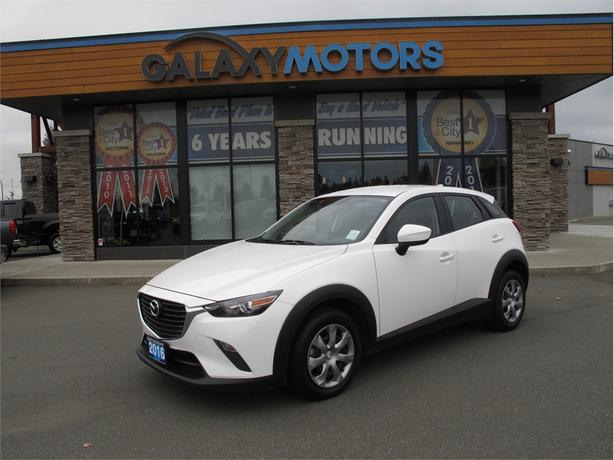 2016 Mazda CX-3 GX- Accident Free, BC Only, Sport Mode