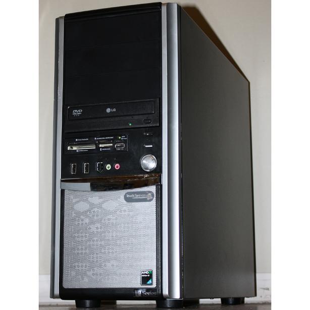 TouchSystems Desktop PC Computer AMD Dual Core 3.2GHz 4GB RAM 160GB Windows 7