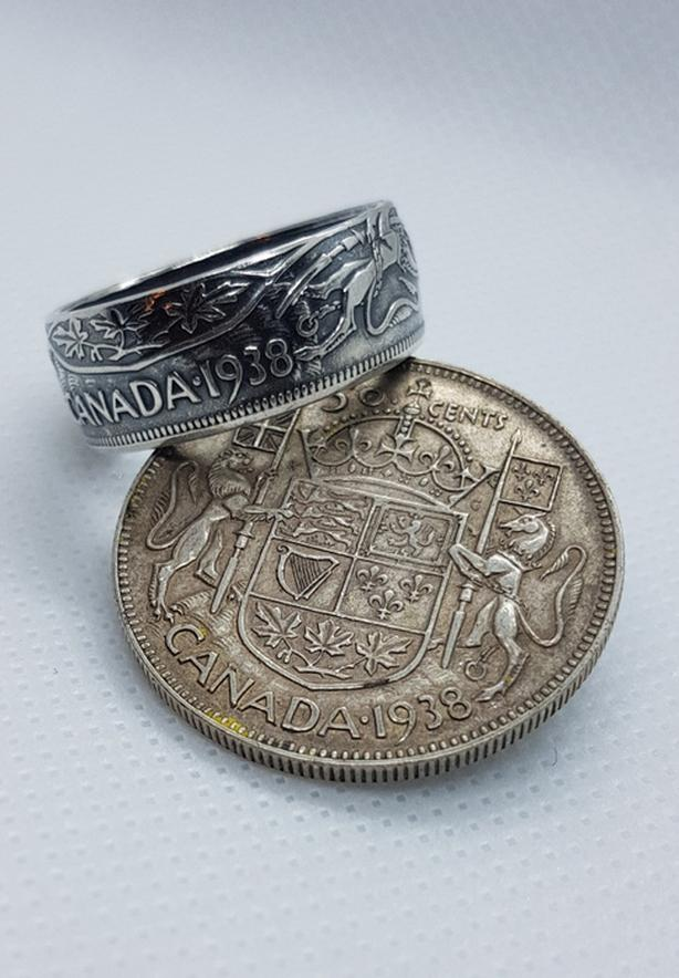 Handmade coin jewelry
