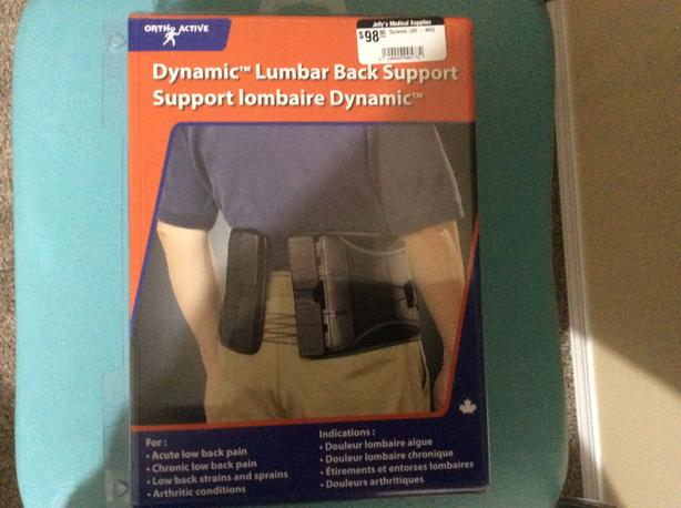 Back support size Medium