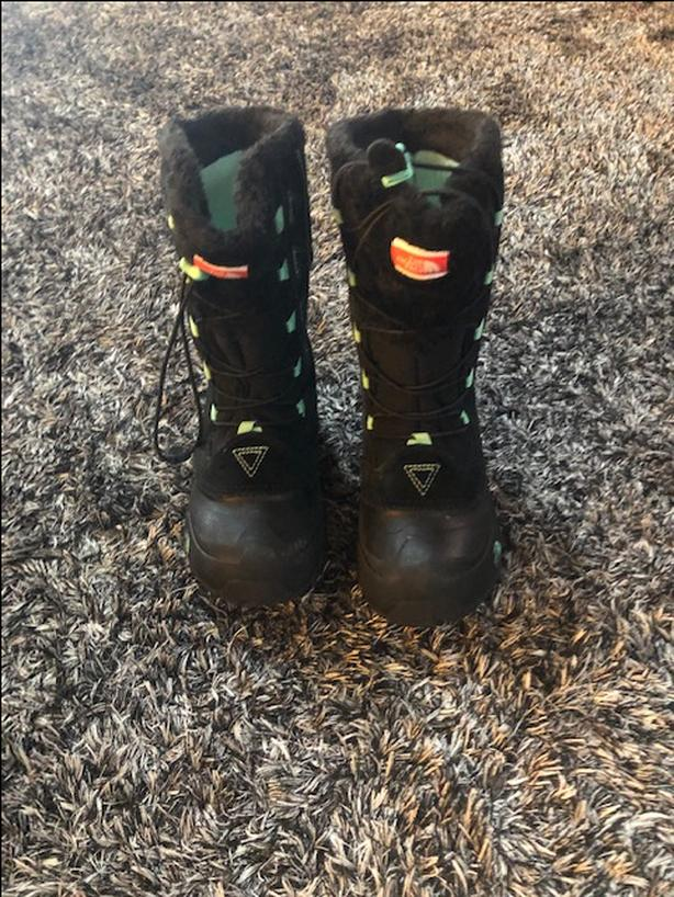 Girls North Face Snow Boots