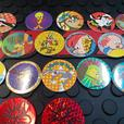 1995 Looney Tunes official pogs
