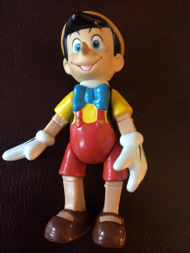 Pinocchio movable toy