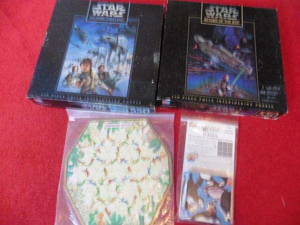 2 Star Wars Puzzle and 2 Brainteaser type ones Saanich, Victoria