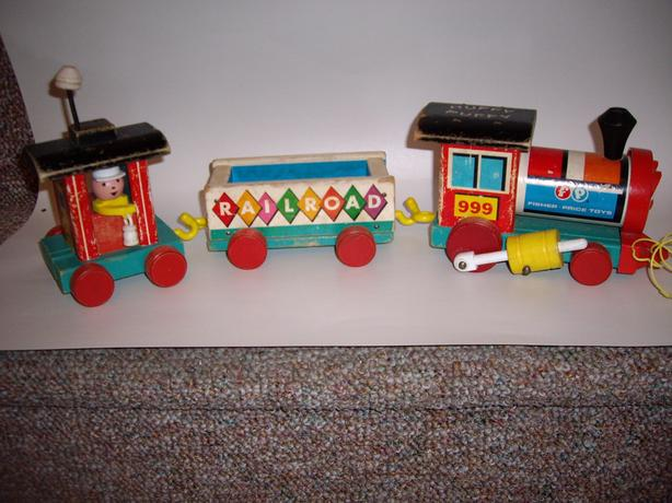 FISHER PRICE HUFFY PUFFY TRAIN