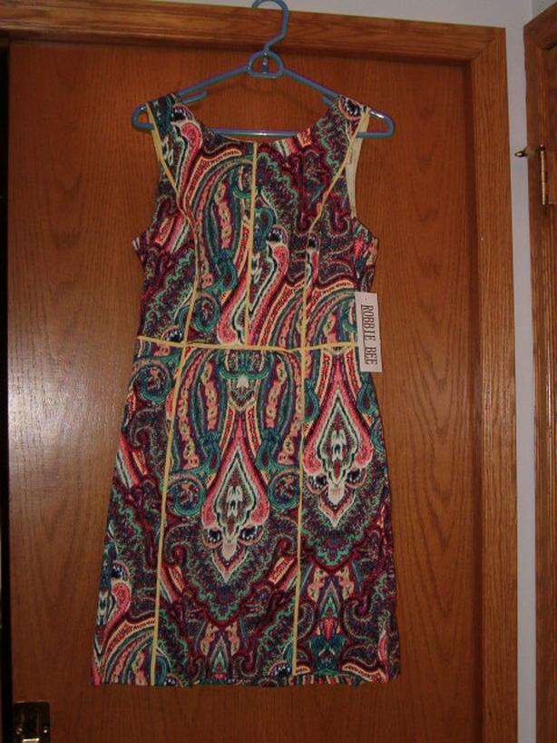woman dress formal casual , size 10