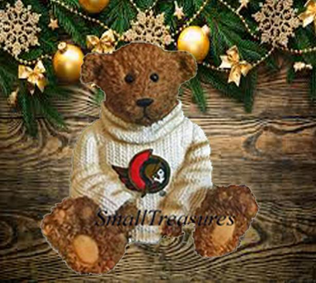NHL OTTAWA SENATORS EBLY POWERPLAY TEDDIES MINI BEAR