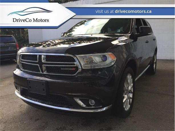 2016 Dodge Durango Limited  - Leather Seats -  Bluetooth - $228.02 B/W