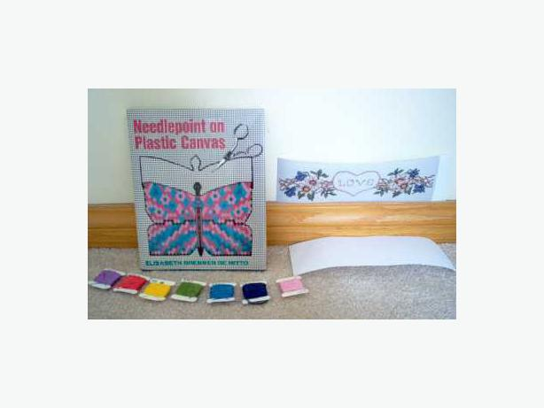 Needlepoint on Plastic Canvas Book