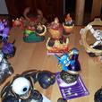 Skylanders gaming figurines for both WII and WII U.