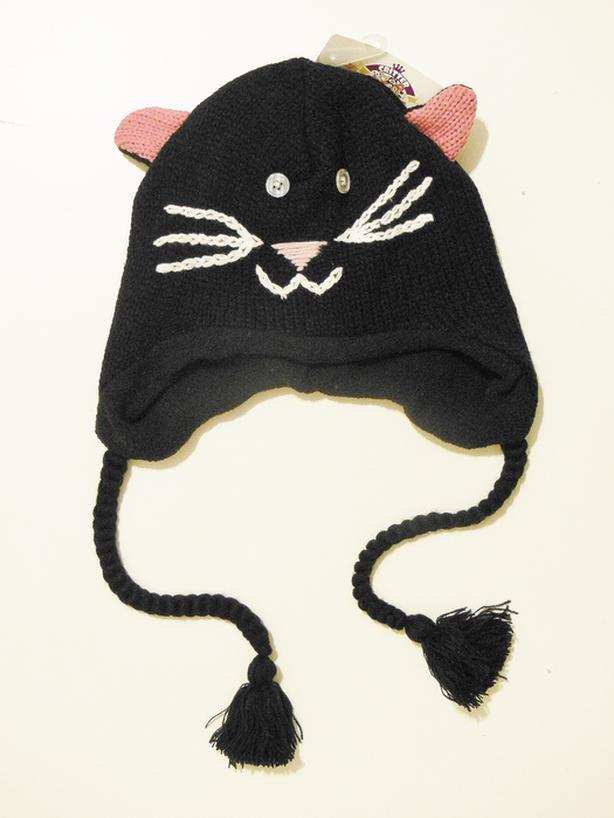CRITTER KINGDOME Kitty Beanie Hat