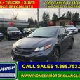 2014 Honda Civic Coupe EX  - Sunroof -  Bluetooth - $117.27 B/W