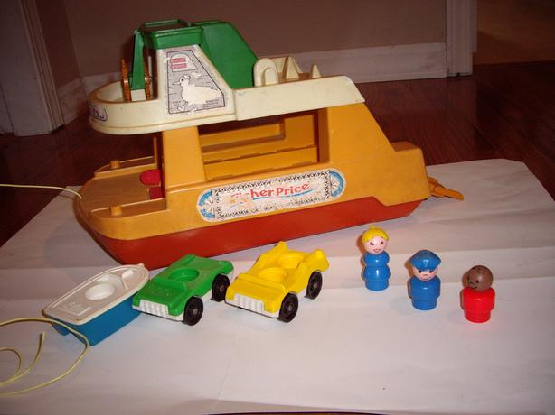 FISHER PRICE FERRY BOAT, ETC