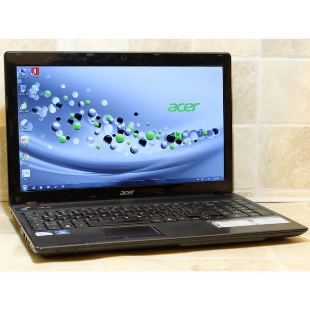 "Acer Aspire 5749 Laptop i3 HDMI DVDRW Webcam 4GB RAM 640GB WiFi 15.6"" Windows 7"