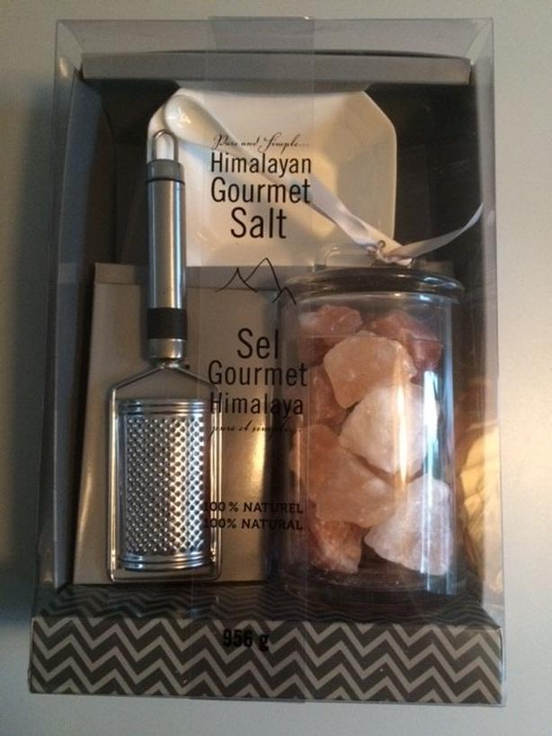 Himalayan salt gift set