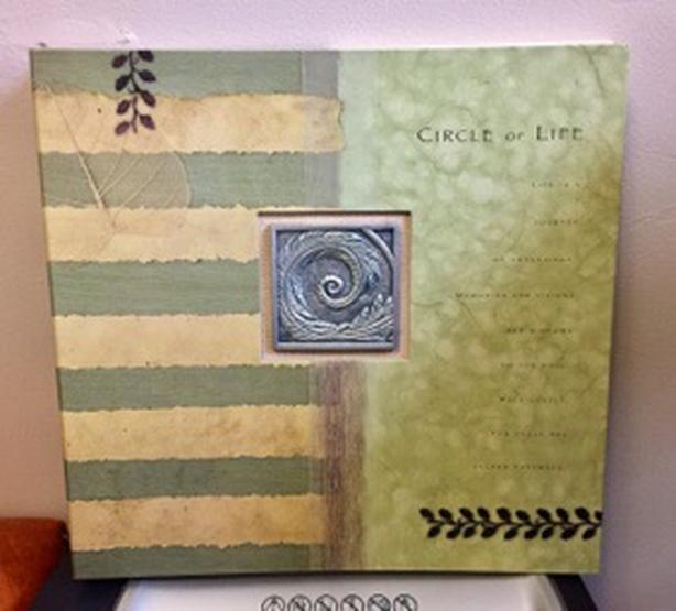 Perlberg Circle of Life 12x12 Album - Scrapbooking Supplies