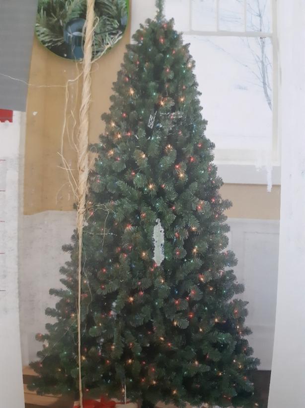 7 Ft. Prelit Christmas Tree