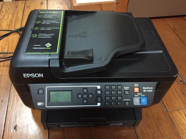 epson scan workforce 2650