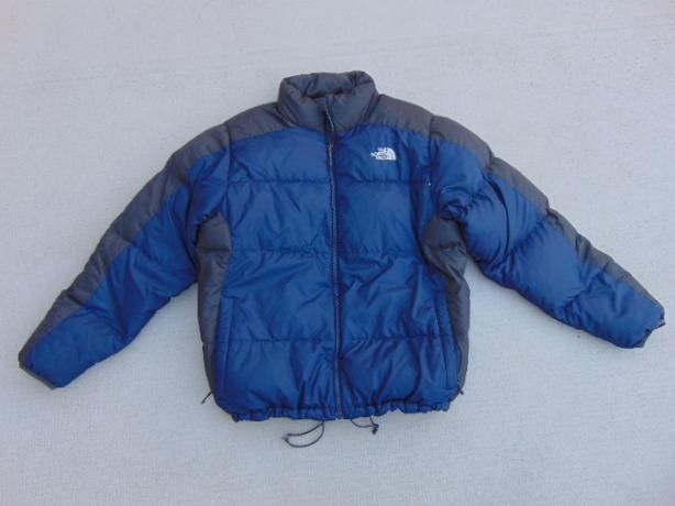 Winter Coat Men 39 S Size Large The North Face Goose Down Filled