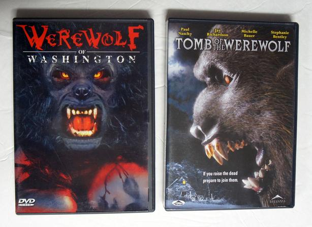 2 DVD Werewolf of Washington & Tomb of the Werewolf