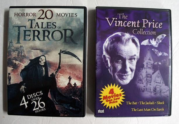 3 DVD box collection  of Horror Movies by St Clair 2005