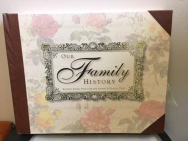 Our Family History Record Book, Photo Album & Family Tree