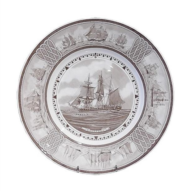 "Wedgwood ""The American Sailing Ship"" plates, Rousseau"