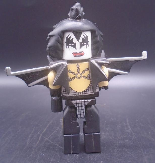 KISS GENE SIMMONS LEGO PIECE
