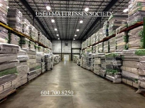 USED MATTRESSES THE BIG IN VANCOUVER AREA ALL SIZE AND BRAND NAME BIG SELECTIONS