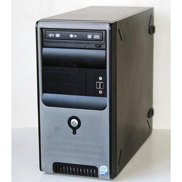 Custom Built Desktop PC Computer Core2 Duo 2.4GHz 4GB RAM 80GB HDD DVDRW