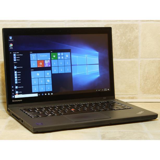 """Lenovo Laptop T440 i5-4300U 8GB RAM 256GB SSD WiFi 14"""" Webcam Windows 10"""