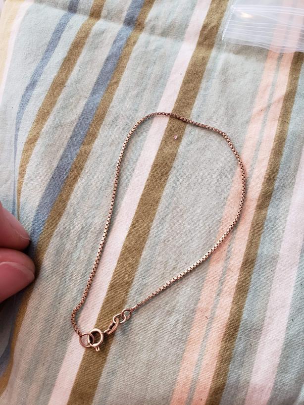 Ladies 10kt bracelet