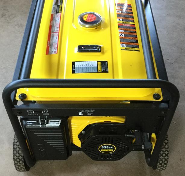 Champion 6250/5500 watt generator.