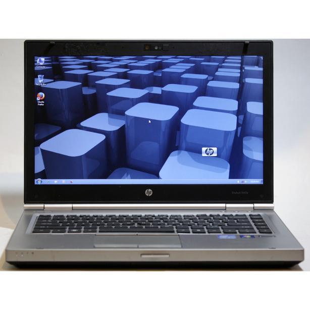 "HP EliteBook 8460p Laptop i7 2.8GHz WiFi Webcam DVDRW 8GB RAM 500GB 14"""