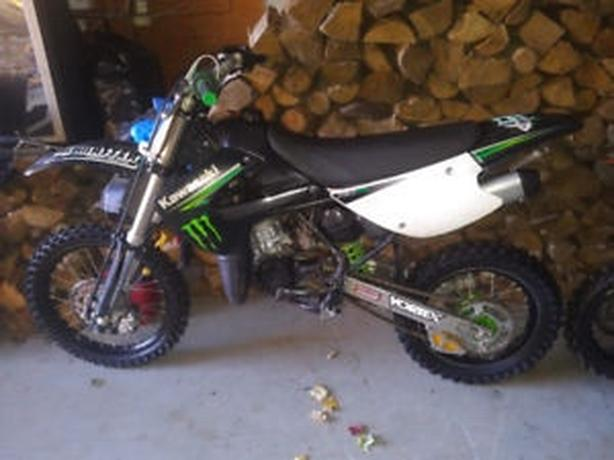 2009 kawasaki KX 85 monster edition