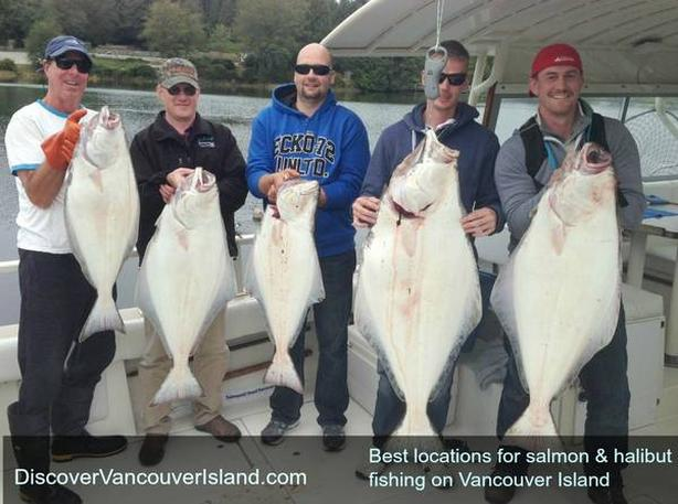 West Coast Salmon and Halibut Fishing- British Columbia