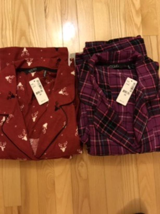 New ladies flannel pjs