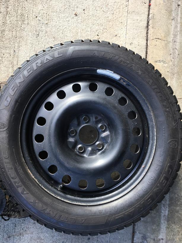 Jeep Compass Used Snow Tires & Rims