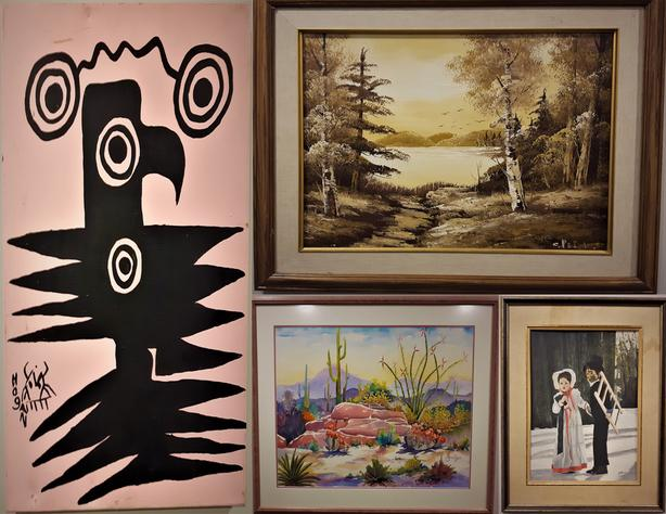 Huge Art, antiques, and Paintings Auction!! Over 120 ITEMS!!