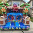 Huge Buccaneer Bouncer & Slide Bouncy Castle Rental!