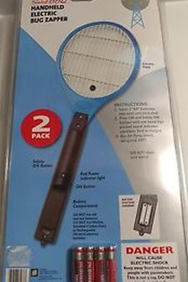 NEW 2x handheld bug zapper